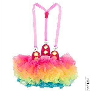 Dresses & Skirts - NWT Party tutu with suspenders